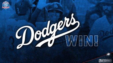 RT @Dodgers: #DodgersWIN!  FINAL: #Dodgers 6, Braves 0 https://t.co/VMMdPrLUgi