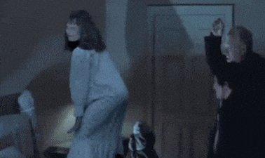 Good choices!!! But honestly this GIF is what I think of when I think of The Exorcist now HAHAHA