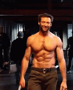 Happy 50th Birthday Hugh Jackman! Aging fine as wine!