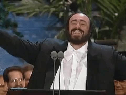 Happy birthday to the one and only Luciano Pavarotti -- who was born on this day in 1935!