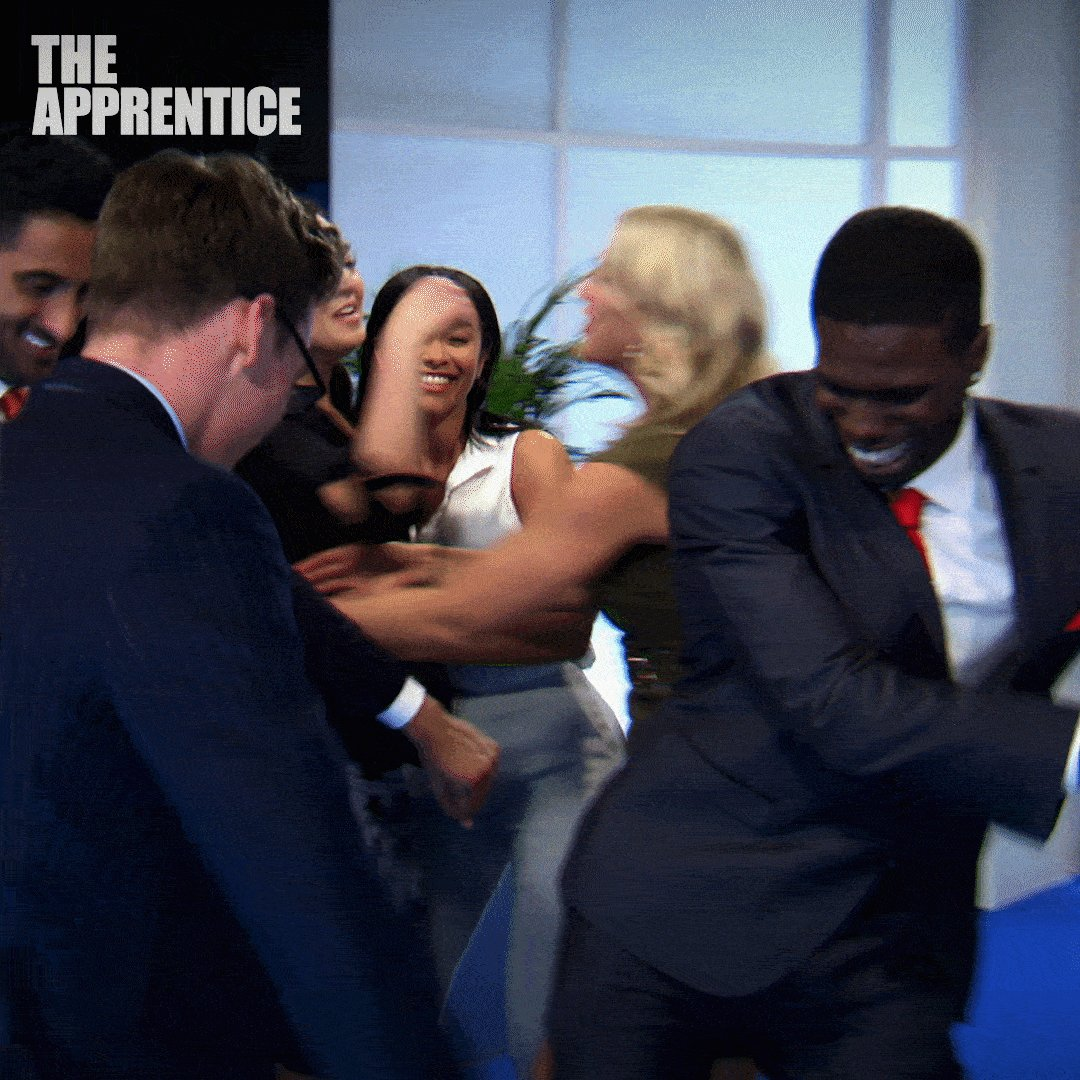 RT @bbcapprentice: Flossin' and bossin'. 👯‍♂️👯‍♂️👯‍♂️ #TheApprentice #ApprenticeWednesdays https://t.co/gB0qaQAK47