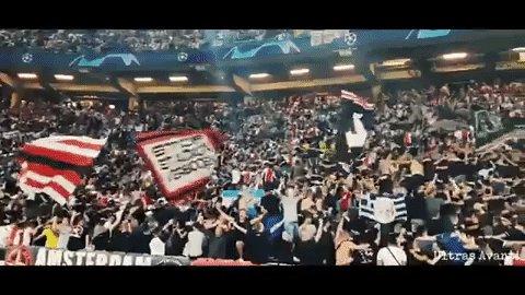 Niet normaal veel zin in morgen, ik hoop op weer een magisch Champions League avondje. Vol gas! #AJAben https://t.co/Z3SdgwmEGG