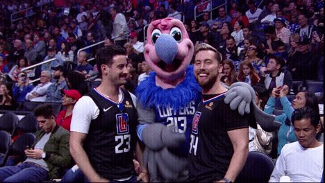 RT @LAClippers: ✅ @LanceBass and @MichaelTurchin completed the #SportsEquinox circuit!   Also ???? @ErikGriffin. https://t.co/ueOjpWoKht