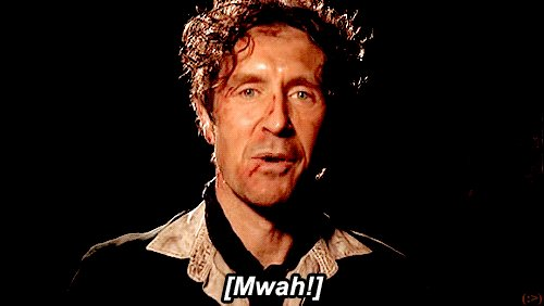 Happy Birthday to Paul McGann!!   My favourite Doctor, a wonderful person and the man who doesn\t age.