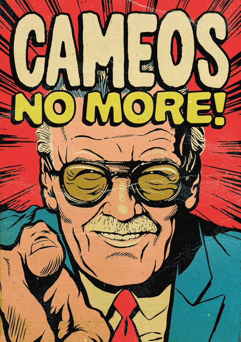 RIP @TheRealStanLee, you inspired nerds like us to aim higher.  original art by @billythebutcher https://t.co/agozLrT5YQ