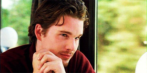 Oh, Jesse. Don\t look at me like that. Haha.  Happy birthday, Ethan Hawke!