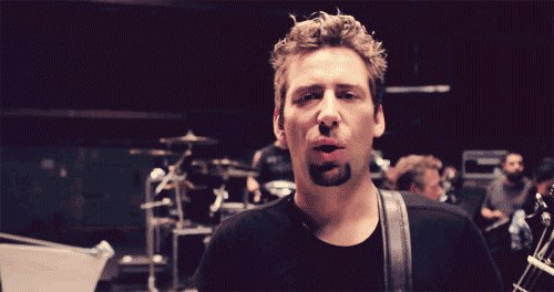 On a lighter note, happy birthday chad kroeger!!