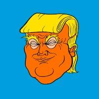 @ManInTheHoody Spray tan went to his brain. https://t.co/YkLU3sfnnm