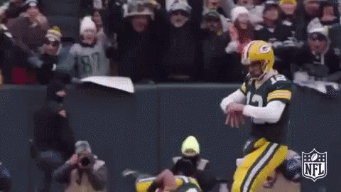 RT @acmepackingco: Aaron. Rodgers. Ladies. And. Gentlemen. You couldn't write that story any better. #packers https://t.co/iU2ZUMFTrX