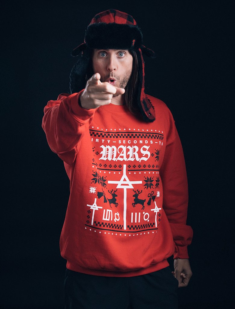 Feeling the holiday spirit in the new MARS holiday sweatshirt. Get yours at  https://t.co/ZBDtjKlrRv https://t.co/v0xHUxH64x