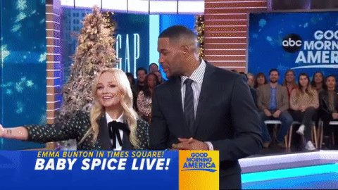 RT @GMA: .@EmmaBunton is in Times Square! https://t.co/EjvErwPEKl