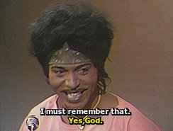 Happy Birthday.  The self proclaimed Father of Rock and Roll.  Little Richard