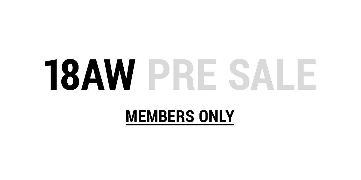 RT @k3_official_: 【k3 online store】18AW PRE SALE START! ログイン後、会場へお進みください。→https://t.co/bShUrbYij4 https://t.co/q40z4EyktD