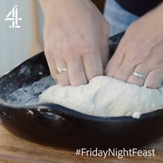Knead it up to make a dough. https://t.co/CFOBe8nXry