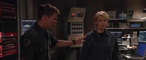 Awwww Happy Birthday Ben Browder... Such a fun, person to meet. It\s funny this is the only gif available.