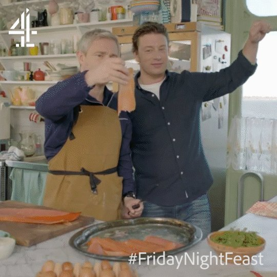 Who do you know that's guilty of milking it?! #FridayNightFeast https://t.co/StiFEqEBly
