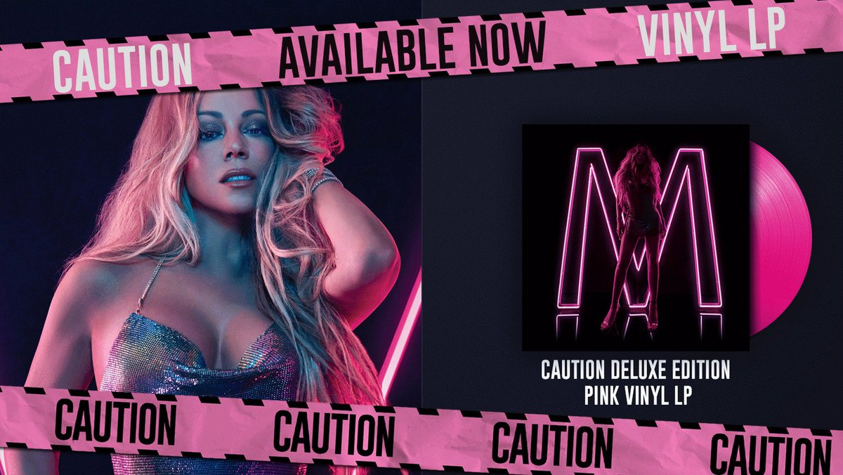 ⚠️ Caution vinyls are starting to ship now! Available at  https://t.co/u99kuqnxTY ⚠️???? #MariahCaution https://t.co/6yvHBTeMpa