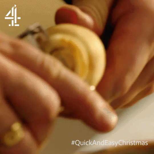 With the parsnips, simply use a peeler to take the ends off. https://t.co/moy0L2dl5W