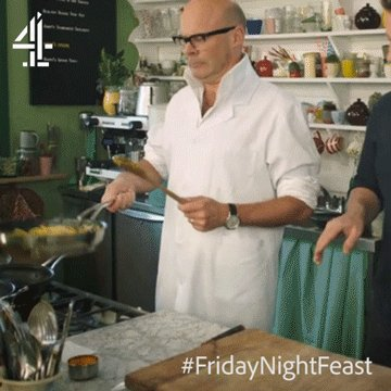 That awkward moment when... ????  @HarryHill #FridayNightFeast https://t.co/7McxjC0467