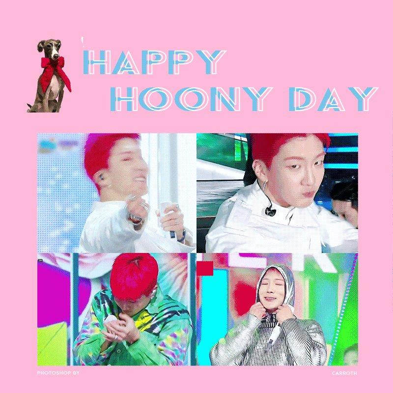 RT @Carroth111: #HappyHoonyDay  @official_hoony_ https://t.co/HZjq53KxzB