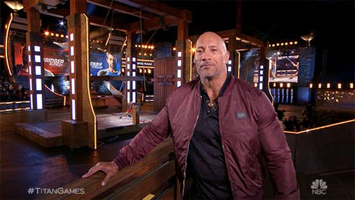 RT @nbctitangames: Busy on Thursday?  Don't worry @therock's got you. #TitanGames is on NOW on @nbc. https://t.co/XwjKTbtvjs