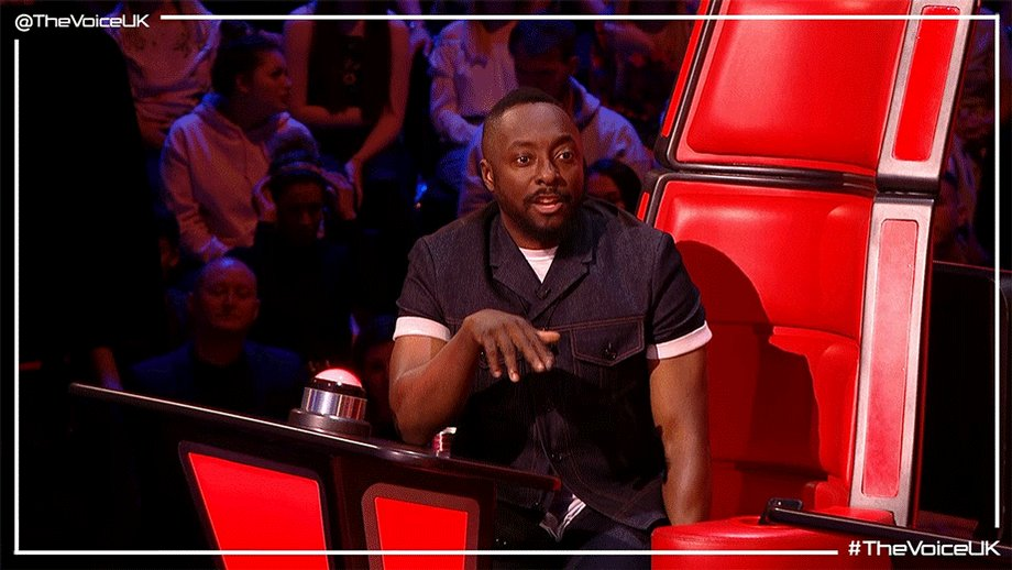 RT @thevoiceuk: When @iamwill and @IAMJHUD tell you not to be afraid you LISTEN. #TheVoiceUK https://t.co/A61jXWNbbW