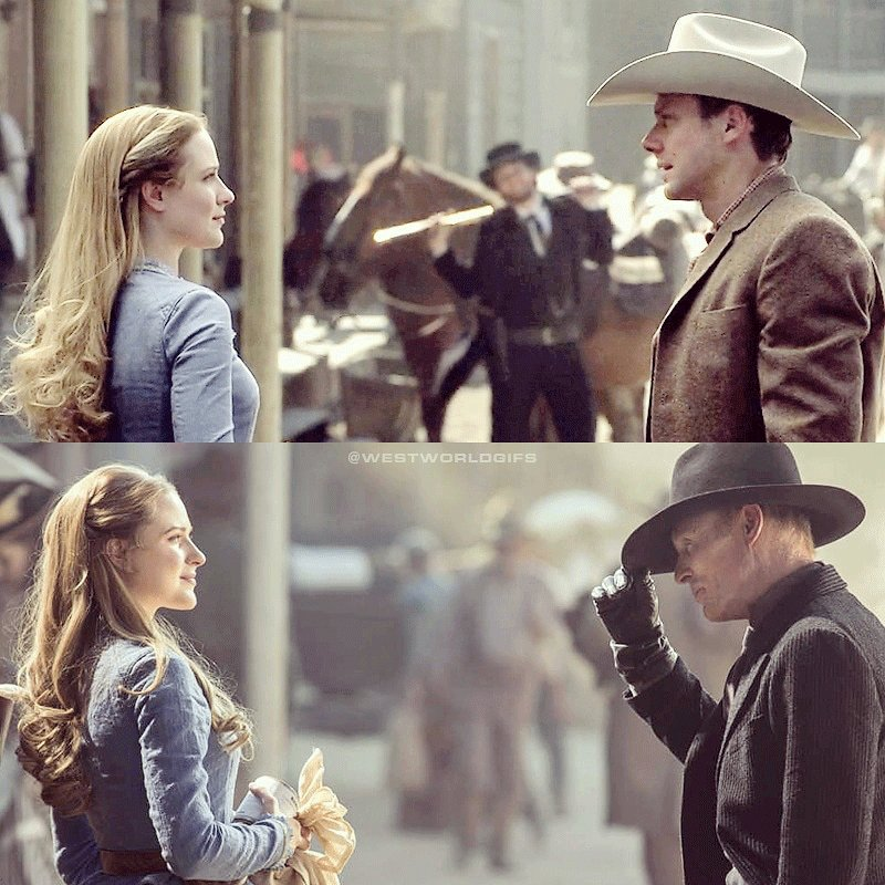 RT @WestworldGifs: 30 year challenge. #Westworld @evanrachelwood @jimmisimpson https://t.co/QWlFLXrtoM