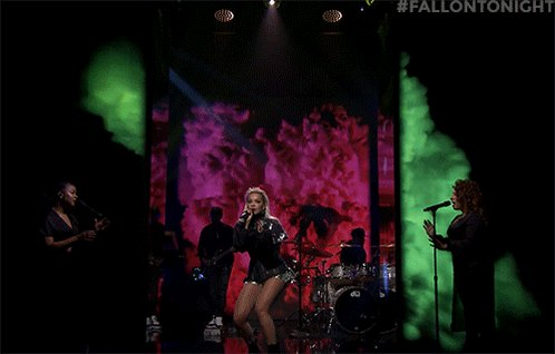 RT @FallonTonight: Turn it up! @RitaOra performs