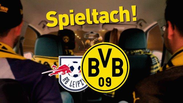 🖤 SPIELTACH!   🆚 Rasenballsport Leipzig 🕤 18:30 Uhr  🏆 @Bundesliga_DE   📱 #RBLBVB https://t.co/sNJ1XjXqO4