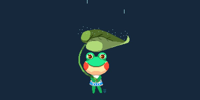 i hope we get some more rain in cali !! here's a Lily bean #AnimalCrossing #pixelart https://t.co/S1ZjL4Yn4g