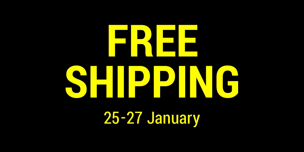 RT @k3_official_: 【k3 online store】Free shipping ! for all items.25-27,January. https://t.co/uqOQRnBQQr https://t.co/iZhezleQSd