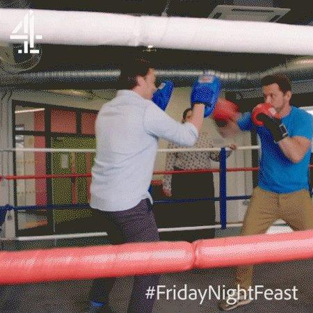 The gloves are off, @jimmysfarm ???? #FridayNightFeast https://t.co/3N6K51dF2Q
