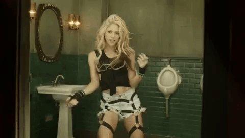 Happy birthday to **extremely voice** Shakira,