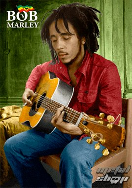 Happy Birthday Bob Marley . He would have been 74 years old today .