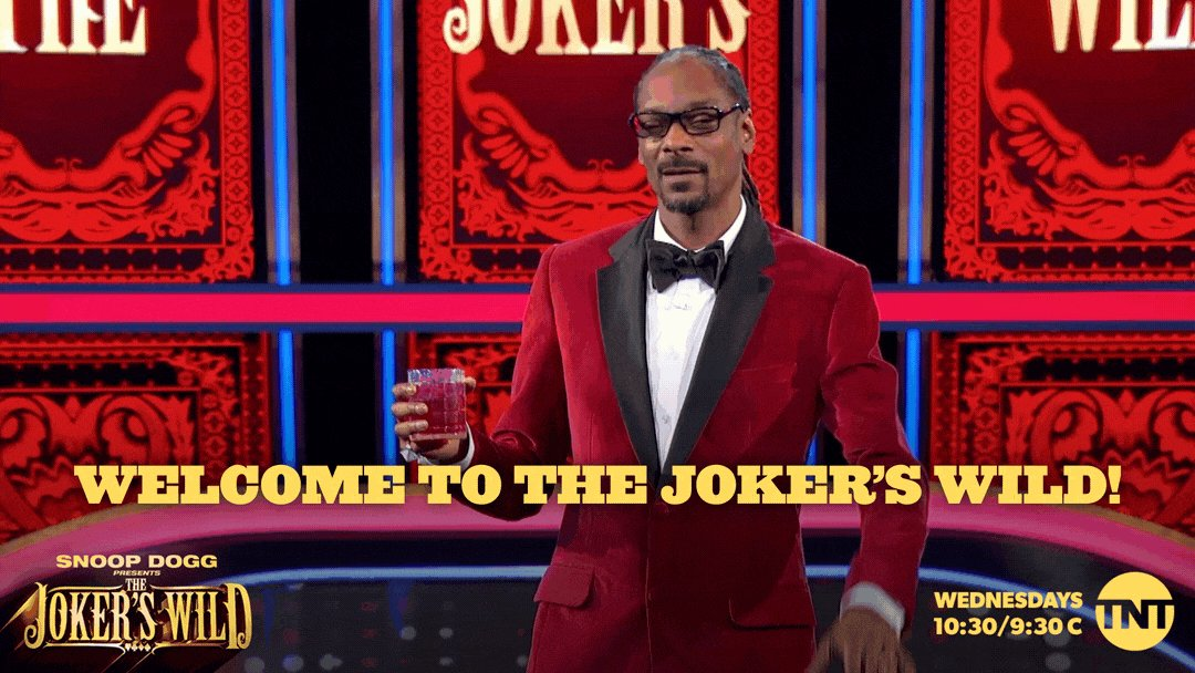 RT @JokersWildTNT: New, improved and ready to move. #JokersWild starts right now. 50k up for grabs! https://t.co/JFxspfxyqp
