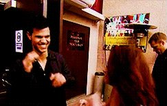 "Happy Birthday Taylor Lautner!!  ""I love Taylor! Yeah! He\s like one of my boys.\"" -K"