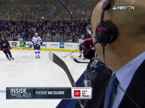 RT @AlexJamesFitz: Pierre McGuire had a brush with certain death https://t.co/ZLChnv3JyY