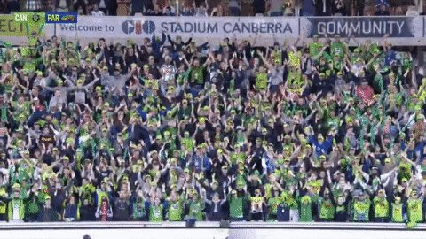 @RaidersCanberra #Raiders fans all of #Canberra #wearecbr #WeAreRaiders get out to @giostadium on Sun v @SeaEagles #NRL break the attendance record support mighty #greenmachine break the noise record #VikingClap @Jarrodcroker c'mon boys👊🏼🤛🏼💚🤜🏼💪🏼 https://t.co/9bXkpOw6KB