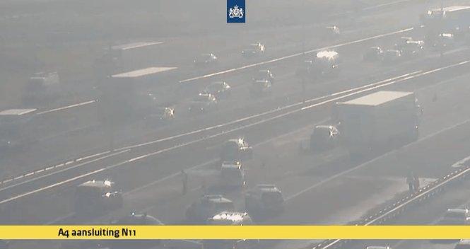 Melding ongeval Zoeterwoude-Rijndijk