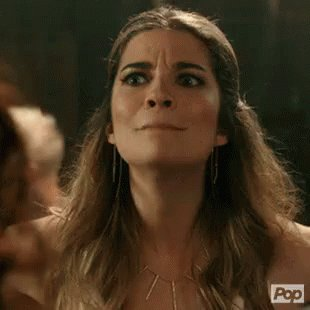 Palace reactions as Schitt's Creek gifs   Duchess Kate, realizing it could have been her.