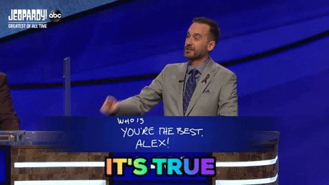 #YoureTheBestAlex #JeopardyGOAT