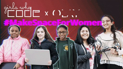 Every tweet equals $1 to @GirlsWhoCode, an organization that teaches girls how to solve problems, build community, and even make robots dance. Help us reach up to $500K by tweeting #MakeSpaceForWomen.