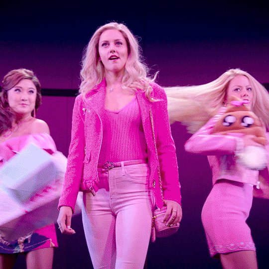 Totally fetch! A movie adaptation of @MeanGirlsBway is in the works: