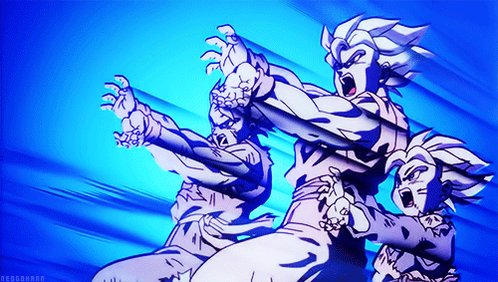 Broly Second Coming is pretty forgettable for me overall but that final beam struggle is GOAT in my eyes  We actually got to see Gohan and Goten fight together... and Goten actually got to do something. Plus the scene overall is cool as hell