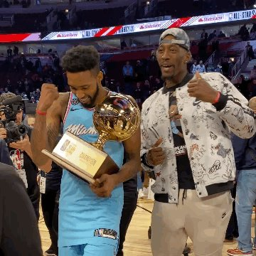 Make that TWO 🏆  for the @MiamiHEAT tonight!  @TheRea1DJones x @Bam1of1