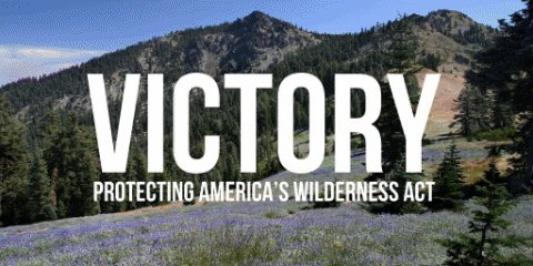 PASSED!   @HouseDemocrats just passed a major bill protecting 1.3 million acres of wilderness. We're fighting to #KeepItWild so Americans can enjoy our #PublicLands for generations to come.
