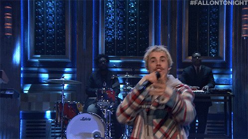 ".@justinbieber performs ""Intentions"" with @QuavoStuntin from his new album #Changes 🎤🎶  #FallonTonight"