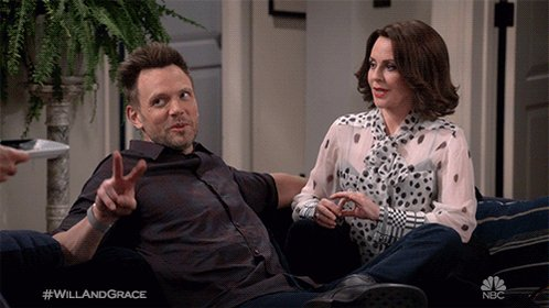 Karen's laugh. That's it, that's the tweet. #WillAndGrace