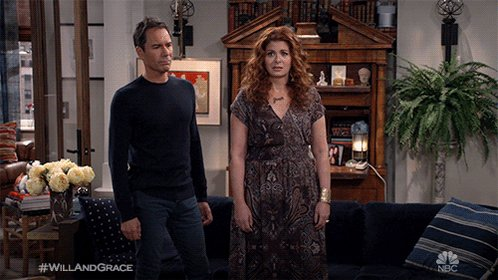 """Whew! There's more to the story... See you next week for part 2 of """"Filthy Phil."""" #WillandGrace"""