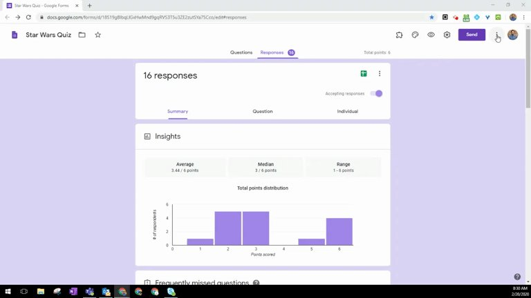 #howdidinotknowthis In #GoogleForms if you choose print while in the responses tab it takes you to a new url which you can use to share the charts with others without making them collaborators! https://t.co/9AaKsF2gjR